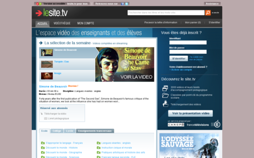 Access lesite.tv using Hola Unblocker web proxy