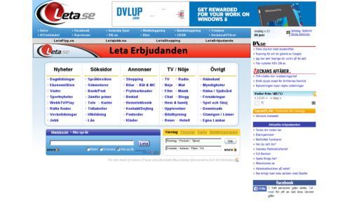 Access leta.se using Hola Unblocker web proxy