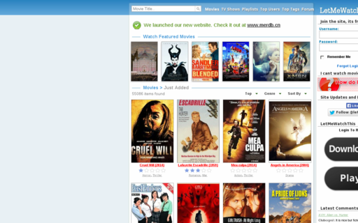 Access letmewatchthis.ae using Hola Unblocker web proxy