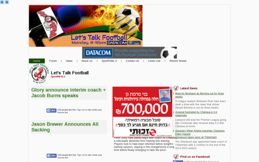 Access letstalkfootball.org using Hola Unblocker web proxy