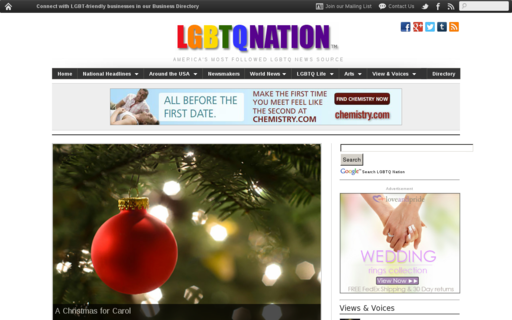Access lgbtqnation.com using Hola Unblocker web proxy