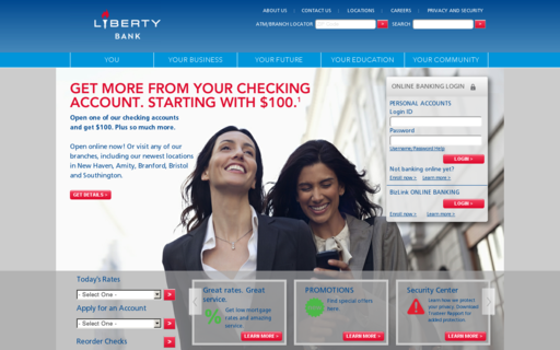 Access liberty-bank.com using Hola Unblocker web proxy