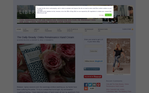 Access libertylondongirl.com using Hola Unblocker web proxy