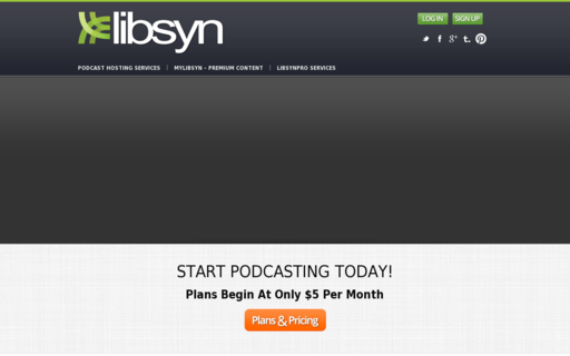 Access libsyn.com using Hola Unblocker web proxy