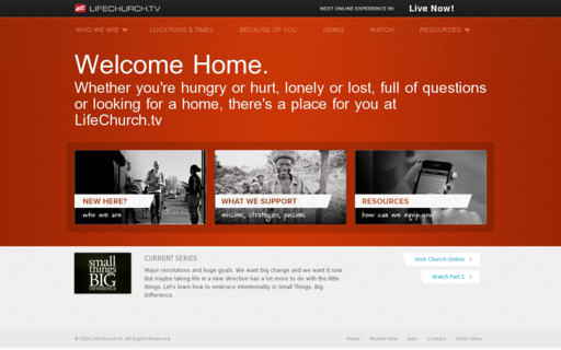 Access lifechurch.tv using Hola Unblocker web proxy