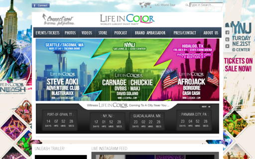 Access lifeincolor.com using Hola Unblocker web proxy