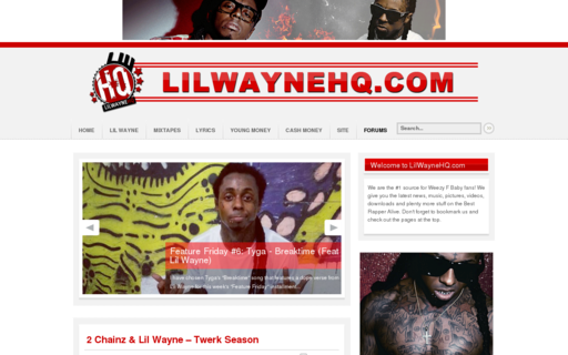 Access lilwaynehq.com using Hola Unblocker web proxy