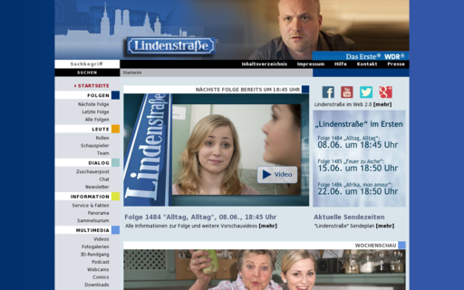 Access lindenstrasse.de using Hola Unblocker web proxy