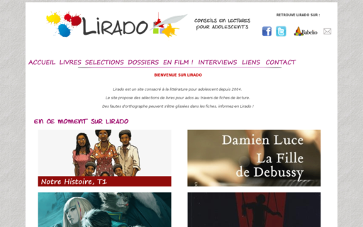 Access lirado.com using Hola Unblocker web proxy