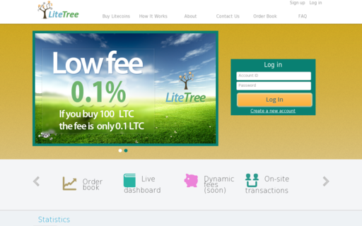 Access litetree.com using Hola Unblocker web proxy