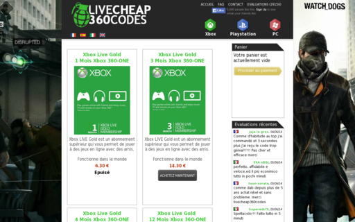 Access livecheap360codes.com using Hola Unblocker web proxy