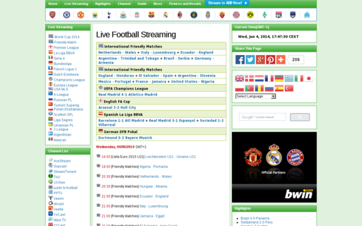 Access livefootballol.com using Hola Unblocker web proxy