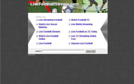 Access livefootballstream.com using Hola Unblocker web proxy
