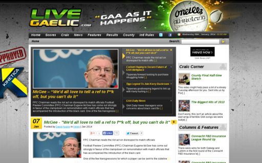 Access livegaelic.com using Hola Unblocker web proxy