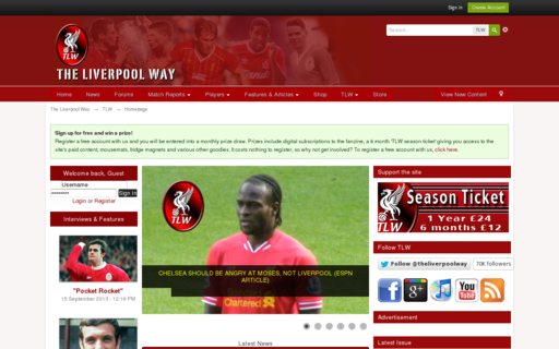 Access liverpoolway.co.uk using Hola Unblocker web proxy
