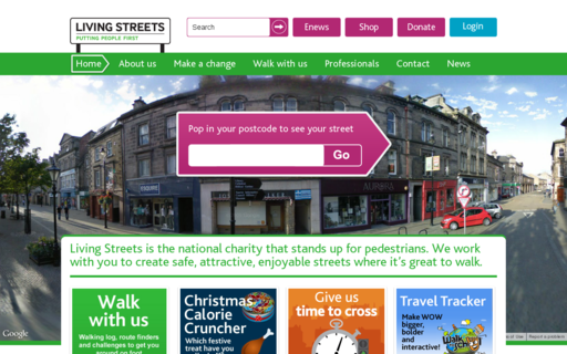 Access livingstreets.org.uk using Hola Unblocker web proxy