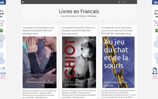 Access livresenfrancais.org using Hola Unblocker web proxy