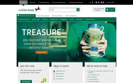 Access lloydsbank.co.uk using Hola Unblocker web proxy
