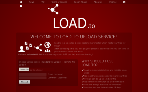 Access load.to using Hola Unblocker web proxy