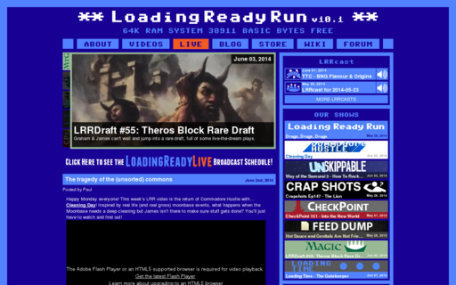 Access loadingreadyrun.com using Hola Unblocker web proxy