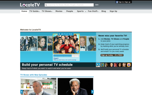 Access locatetv.com using Hola Unblocker web proxy