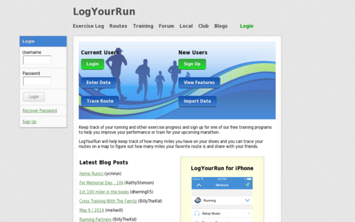 Access logyourrun.com using Hola Unblocker web proxy