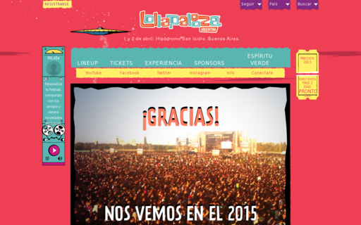 Access lollapaloozaar.com using Hola Unblocker web proxy
