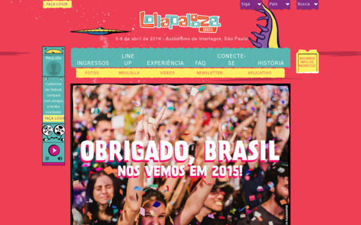 Access lollapaloozabr.com using Hola Unblocker web proxy