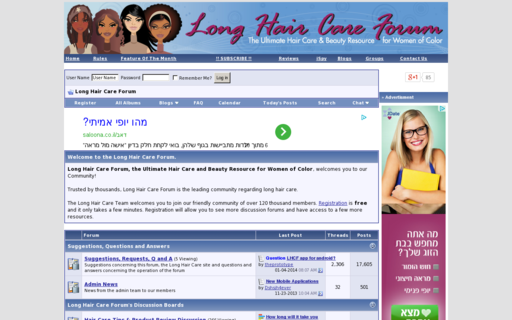 Access longhaircareforum.com using Hola Unblocker web proxy