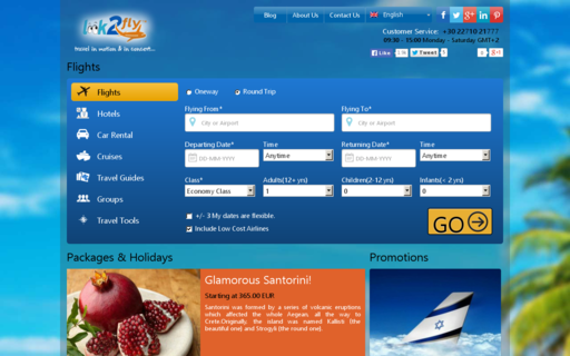 Access look2fly.com using Hola Unblocker web proxy