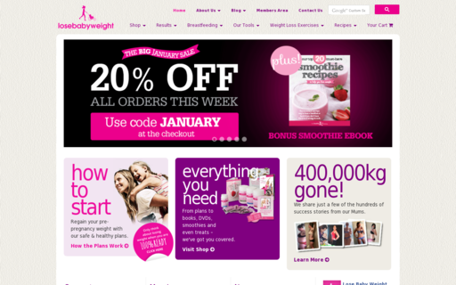 Access losebabyweight.com.au using Hola Unblocker web proxy