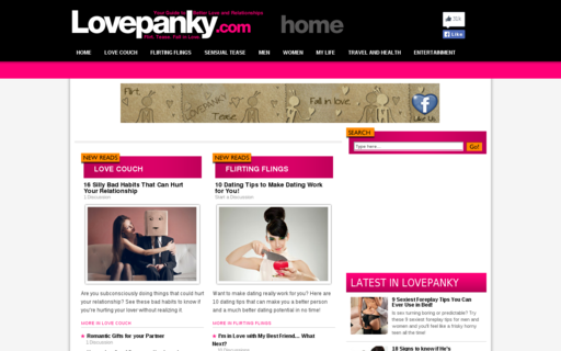 Access lovepanky.com using Hola Unblocker web proxy