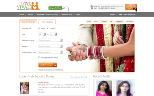 Access lovevivah.com using Hola Unblocker web proxy