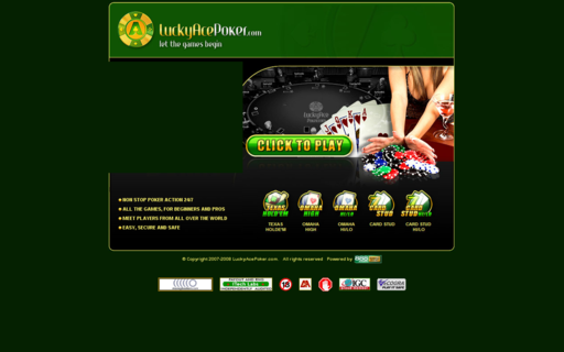 Access luckyace-poker.com using Hola Unblocker web proxy