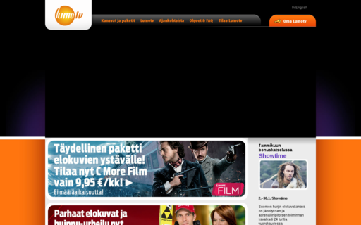 Access lumotv.fi using Hola Unblocker web proxy