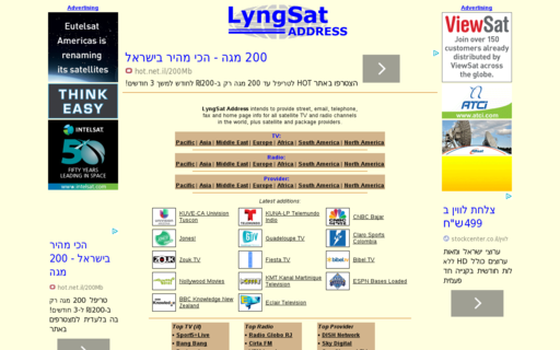 Access lyngsat-address.com using Hola Unblocker web proxy