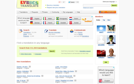 Access lyricstranslate.com using Hola Unblocker web proxy