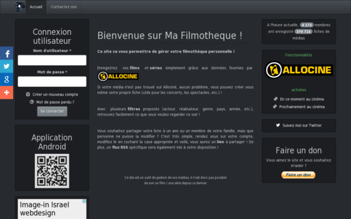 Access ma-filmotheque.fr using Hola Unblocker web proxy