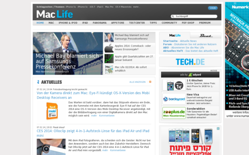 Access maclife.de using Hola Unblocker web proxy