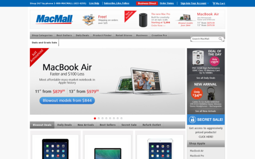 Access macmall.com using Hola Unblocker web proxy