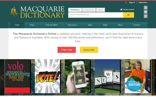 Access macquariedictionary.com.au using Hola Unblocker web proxy