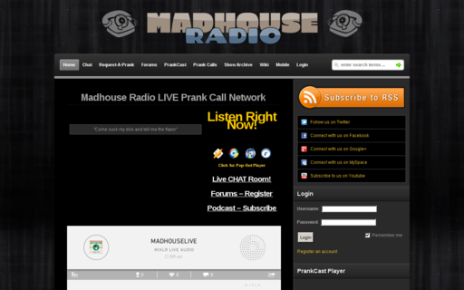 Access madhouselive.com using Hola Unblocker web proxy