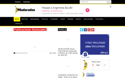 Access maduradas.com using Hola Unblocker web proxy