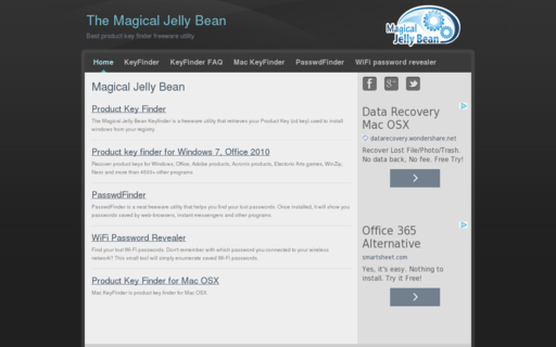 Access magicaljellybean.com using Hola Unblocker web proxy
