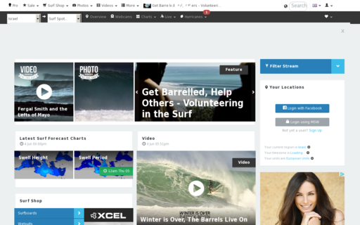 Access magicseaweed.com using Hola Unblocker web proxy