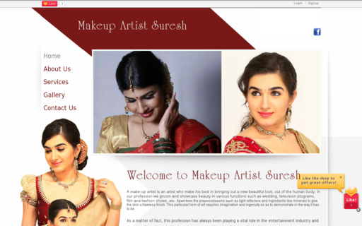 Access makeupartistbridalchennai.com using Hola Unblocker web proxy