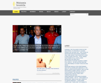 Access malaysia-chronicle.com using Hola Unblocker web proxy