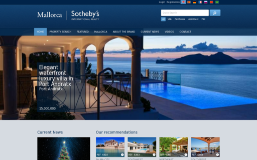 Access mallorca-sothebysrealty.com using Hola Unblocker web proxy