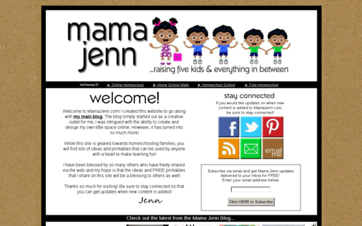 Access mamajenn.com using Hola Unblocker web proxy
