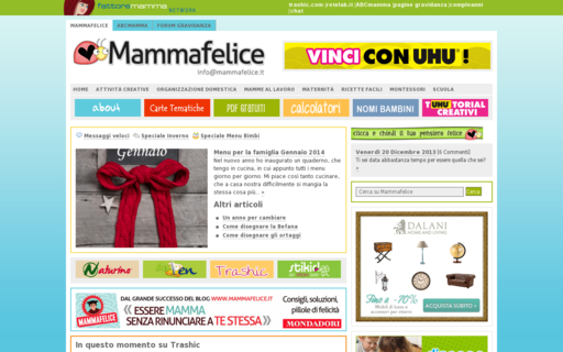 Access mammafelice.it using Hola Unblocker web proxy